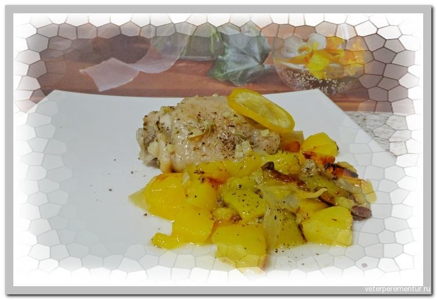Lemon Chicken & Potatoes