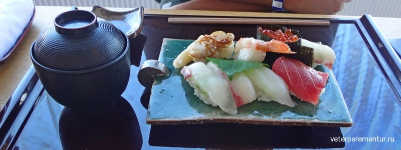 Суши бар, Япония