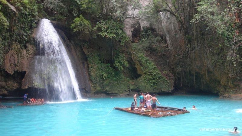 Кавасан (Kawasan Falls)