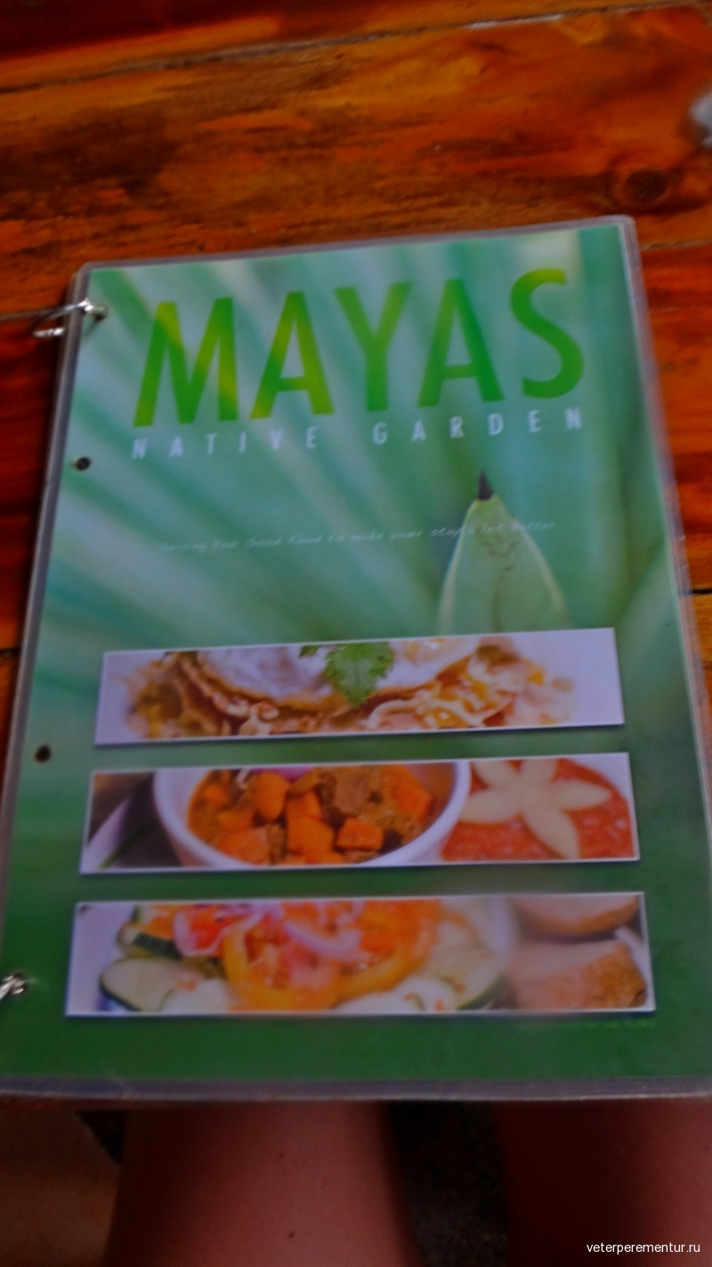 Mayas Native Garden restaurant