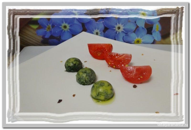Укроп, замороженный с оливковым маслом
