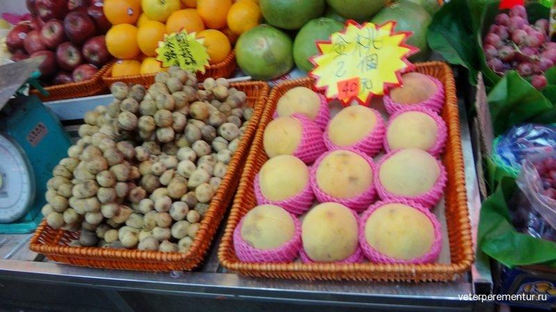 фрукты в Гонконге