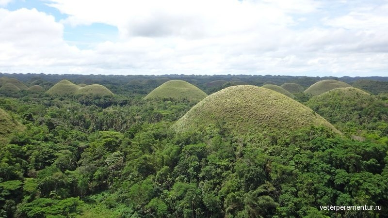 Шоколадные холмы, Бохол, Филиппины