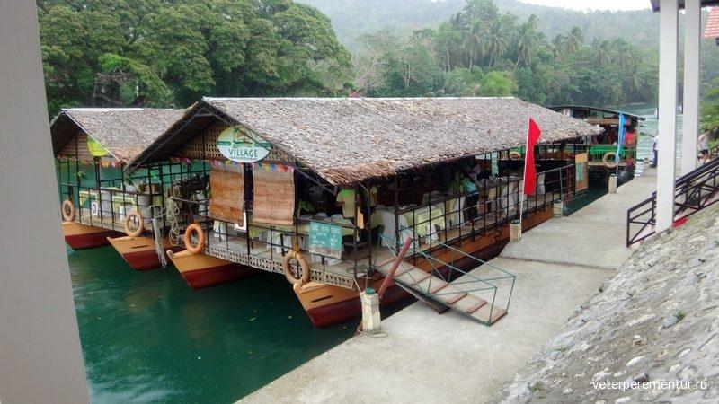 River cruise, Lobok, Philippines