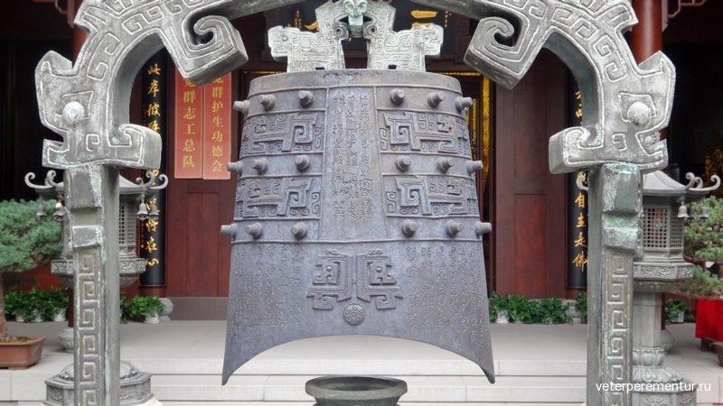 Шанхай, храм Нефритового Будды