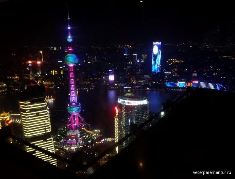 Шанхай, башня Жемчужина