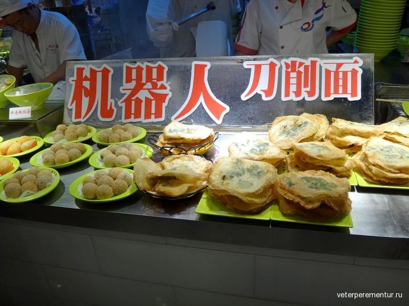 Старый город, Шанхай, рестораны