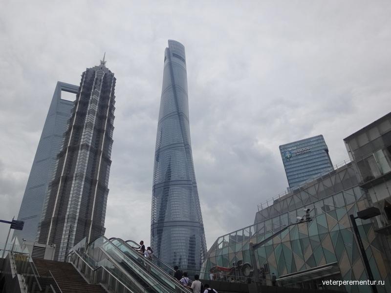 Небоскребы Шанхая