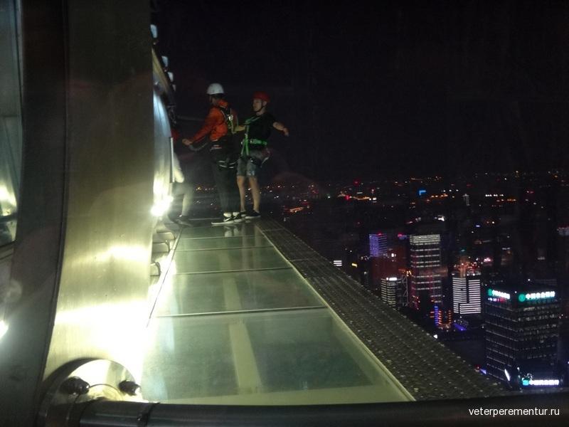 Шанхай, смотровая площадка Цзинь Мао