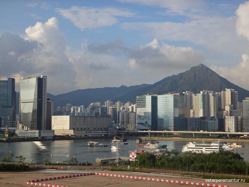 Круизный терминал Гонконга