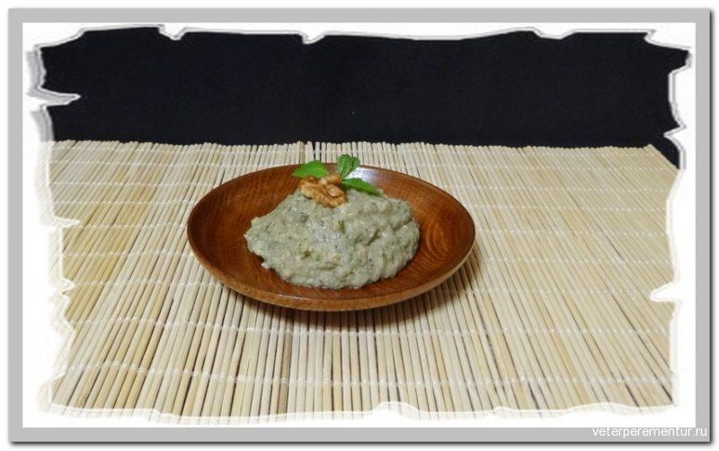 Арабская закуска Мутабаль