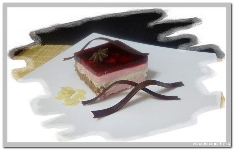 Торт-мусс Вишня в шоколаде