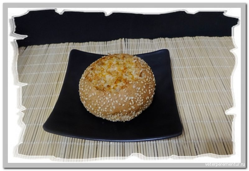 Булочки с мясным фаршем и сыром