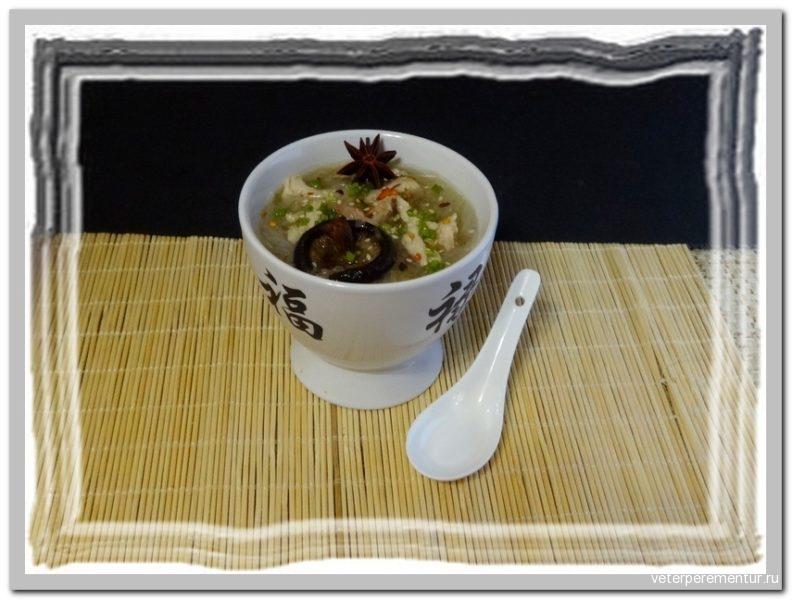 GINGER GARLIC NOODLE SOUP