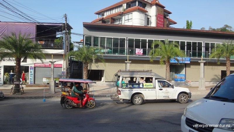Транспорт в Ао Нанге, Таиланд