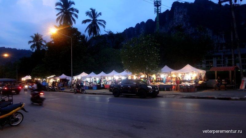 Ao Nang Mosque Market