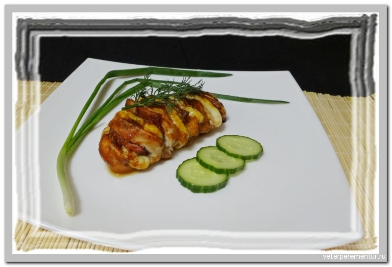 Hasselback Hunters Chicken