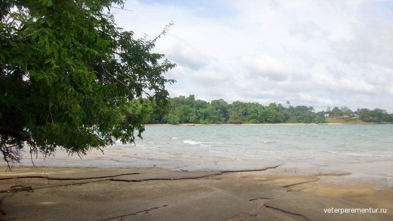 Кладбище ракушек (Shell Fossil Beach)