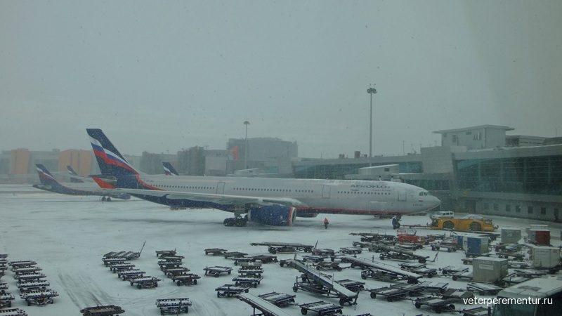 Аэропорт Шереметьево, Москва