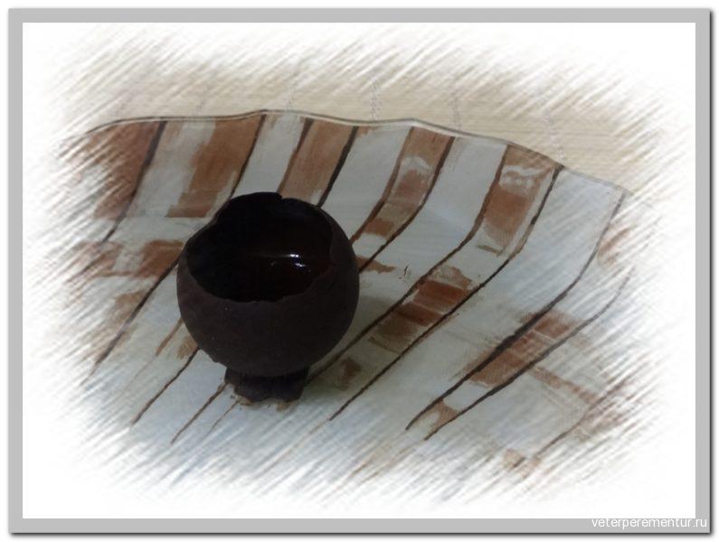 Ginja в шоколадной рюмке