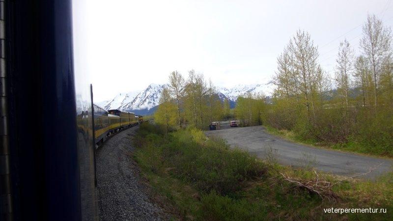 Alaska Railroad Железная дорога Аляски
