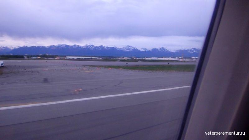 Аэропорт в Анкоридже, Аляска
