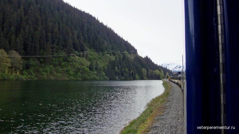 Alaska Railroad Панорамные поезда Аляски