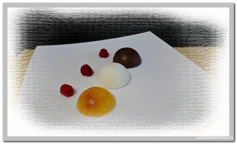 Творожно-фруктовое желе