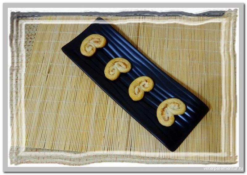 Слоеное печенье с корицей