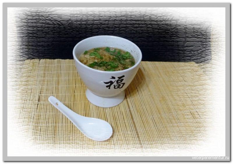 Китайский кукурузный суп
