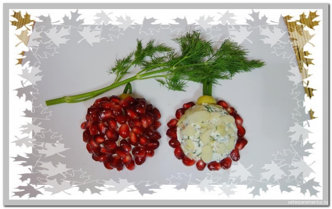 Fancy Christmas Cheese Ball