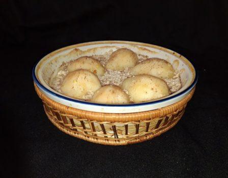 Груши запеченные в сливках c имбирем