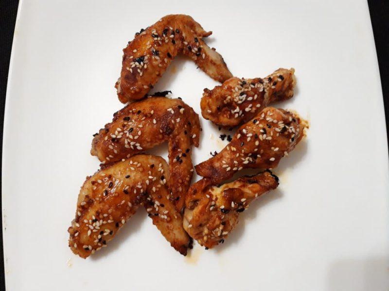 Куриные крылышки запеченные