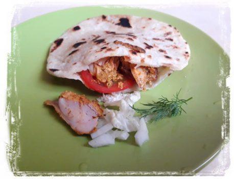 Рецепт Пита на сковороде без дрожжей