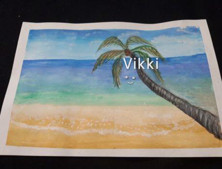 Пальма и море