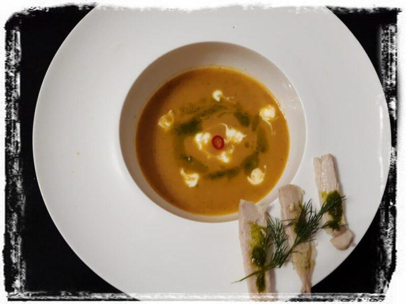 Рецепт Морковный суп-пюре с имбирем