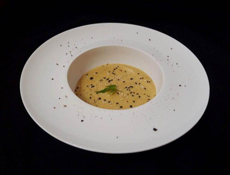 Рецепт Суп из сельдерея со сливками