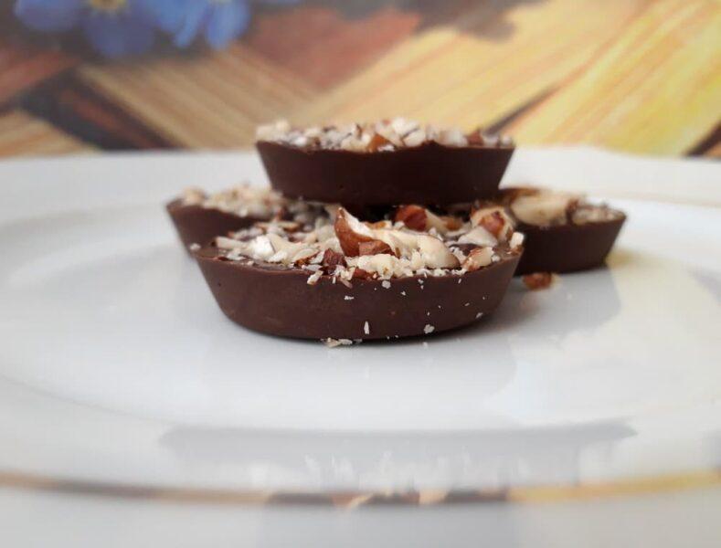 Шоколадная помадка с арахисовым маслом