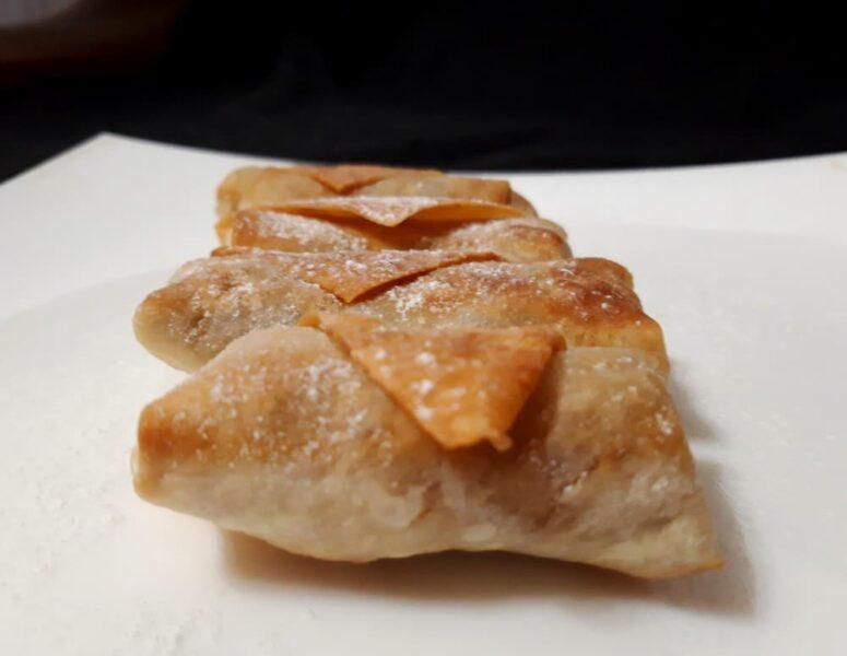 Рецепт Конвертики из лаваша с яблоками