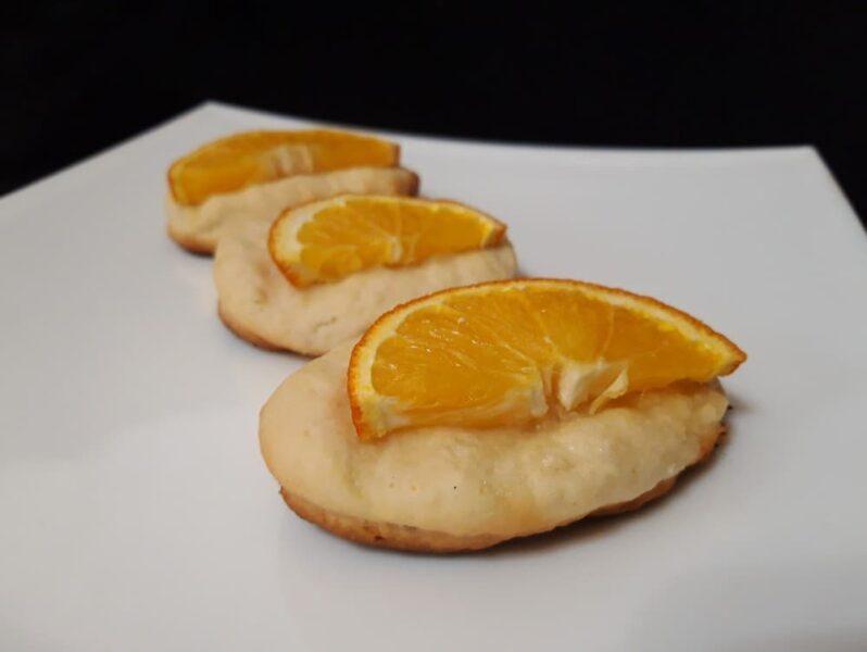 Рецепт Печенье Апельсиновая долька