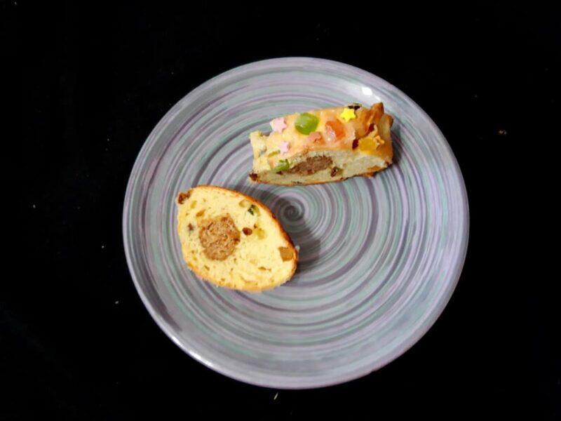 Рецепт кулич Paasbrood с марципаном