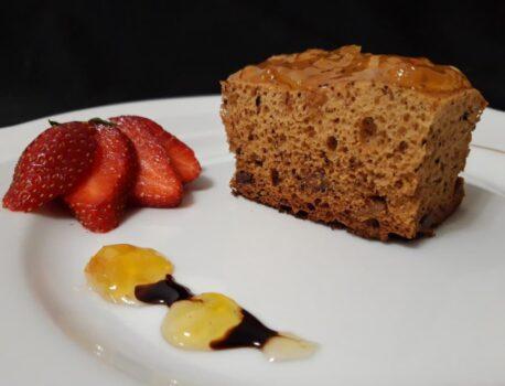 Пирог с медом (медовик) на кефире