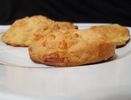Сырное печенье Конопушки