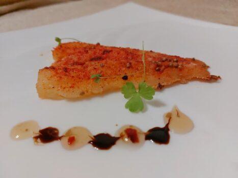 Запеченная рыба с чили