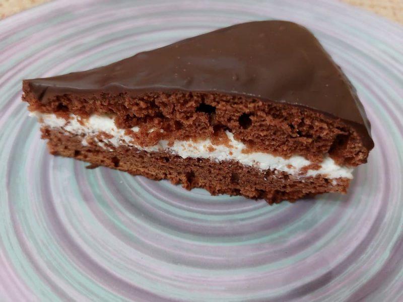 Торт на кефире Черный принц